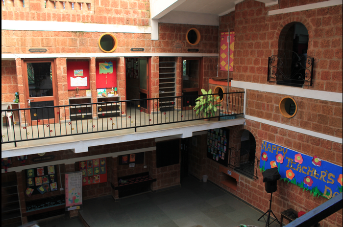 The Inner Courtyard, Nisha's Play School, Goa