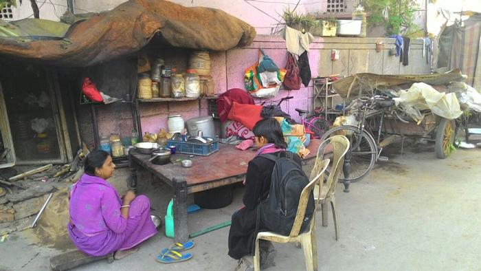 Prem Nagar is cleaner than Safeda Basti; Krishna feels at home here