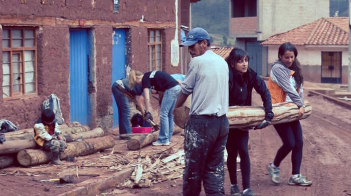 The construction and renovation includes intense work on decrepit or under-funded projects of Cusco