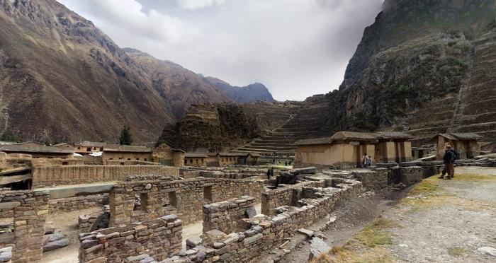 the phenomenon that drives these lives still, the dead walls of an Inca ruin