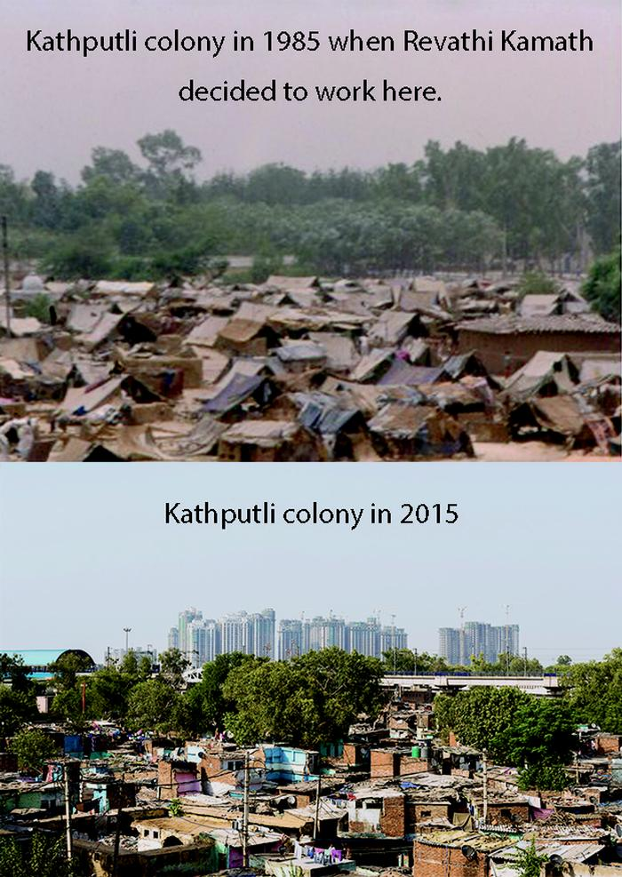 The transformation of Kathputli colony over 30 years