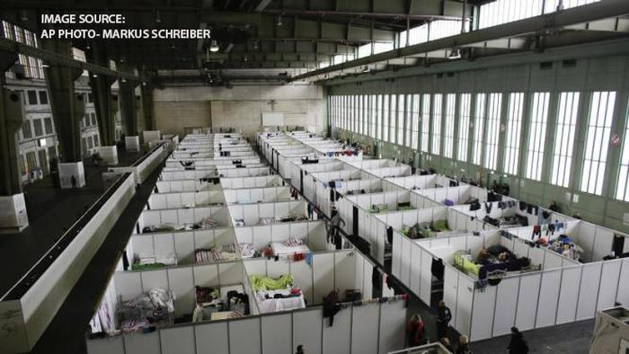 Tempelhofer feld, where large refugee camps have been set up in Berlin will also be studied