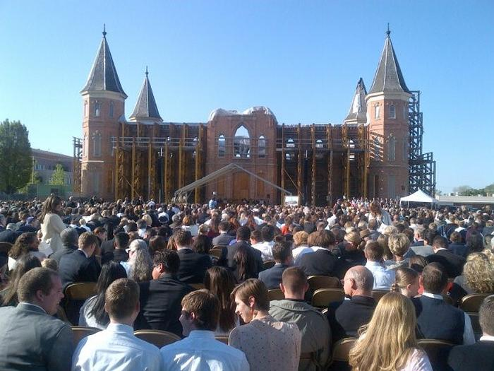 Groundbreaking and Site Dedication of new Provo City Center Temple 2012 (8).