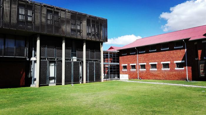 The Women's Jail - Courtyard view