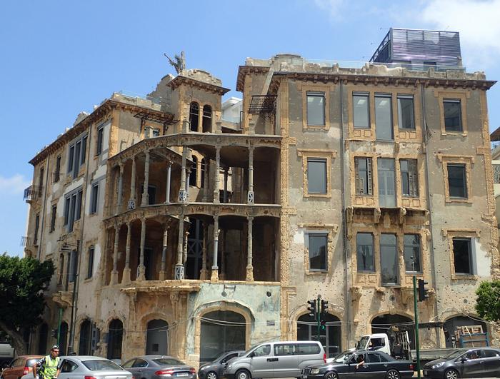 Beit Beirut (The Home of Beirut): Previously named Barakat/Yellow House watching the resilient city
