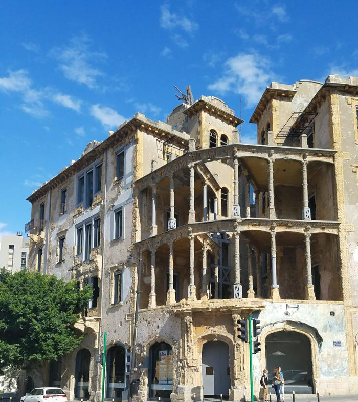 Beit Beirut's war-torn façade reanimated through the effort made to restore its structural integrity