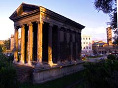 Temple of Portunus, Italy © WMF September 2005