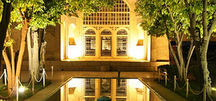 Reflecting Pool, Tomb of Hafez, Shiraz, Iran; ©diocal