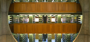 Philips Exeter Academy Library, Exeter, New Hampshire; ©Ken Schwarz