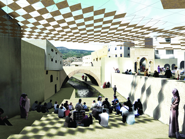 Fez River Project, City of Fez, Morocco, Aziza Chaouni Projects, 2012