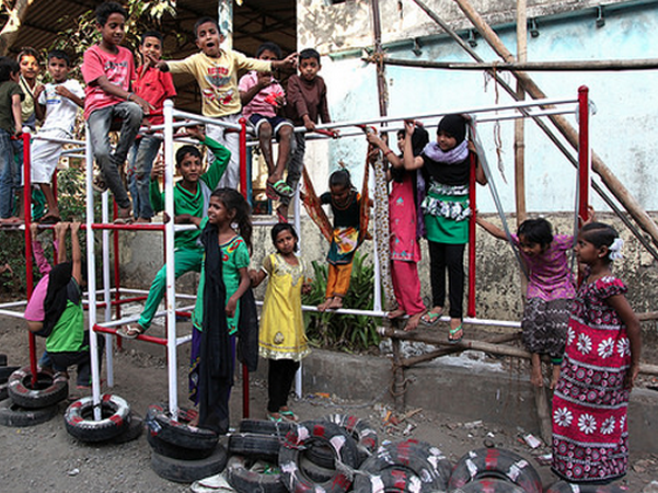 Jungle Gym, Shivagi Nagar, India, Aditya Vipparthi and URBZ, 2014