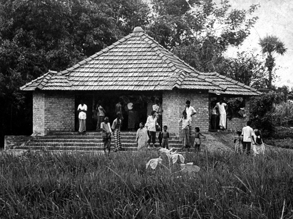 Mother and Child Care Centre, Dakshin Habal Village / Bagman Village, West Bengal, New Delhi, MN Ashish Ganju, 1979.