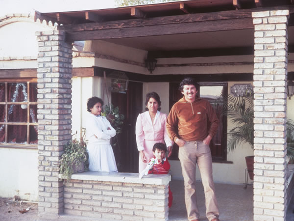 Jose Tapia's house in 1976. Mexicali, Mexico, Christopher Alexander