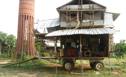 Avikal Somvanshi (2008), The Ladder House, New Delhi, India (2012)