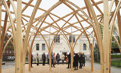 Philip Tidwell (BP 2003) and Peripheral Projects Studio, The Säie pavilion, Helsinki,