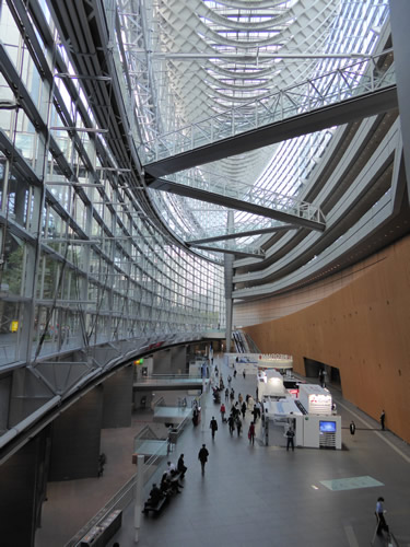 <strong>Tokyo International Forum, </strong>Tokyo, Japan.  Convention center, concert venue and exhibition space designed by Rafael Viñoly, Architect. See: <a href='https://vinoly.com/works/tokyo-international-forum/'>https://vinoly.com/works/tokyo-international-forum/</a>