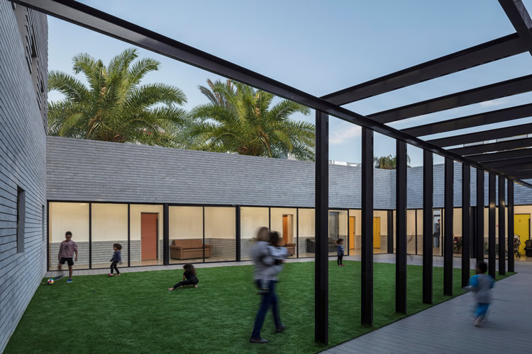 <strong>Shelter For Victims Of Domestic Violence, </strong>Tel Aviv-Yafo, Israel. Amos Goldreich Architecture + Jacobs Yaniv Architects.  See: <a href='https://www.archdaily.com/894042/shelter-for-victims-of-domestic-violence-amos-goldreich-architecture-plus-jacobs-yaniv-architects'>https://www.archdaily.com/894042/shelter-for-victims-of-domestic-violence-amos-goldreich-architecture-plus-jacobs-yaniv-architects</a> (Photo: Amit Geron)