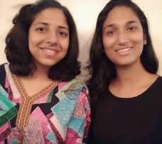 Madhura Vaze & Nabha Joshi
